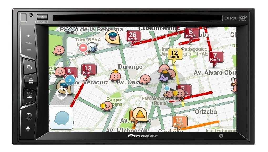 Estereo Pantalla Pioneer Avh-z2250bt Carplay Bluetooth Waze