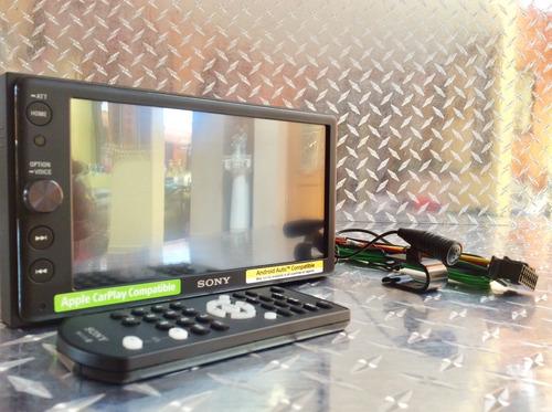 estéreo pantalla sony xav-ax100 apple carplay android auto