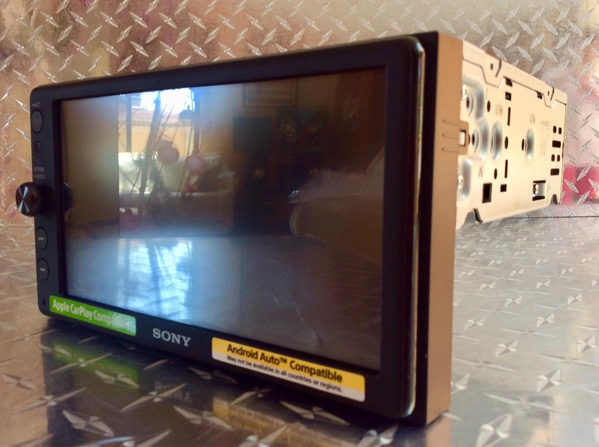 Estéreo Pantalla Sony Xav-ax100 Carplay Android Auto Waze Bt