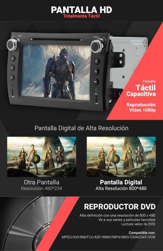 estereo pantalla suzuki sx4 gps dvd tv bluetooh ipod usb sd