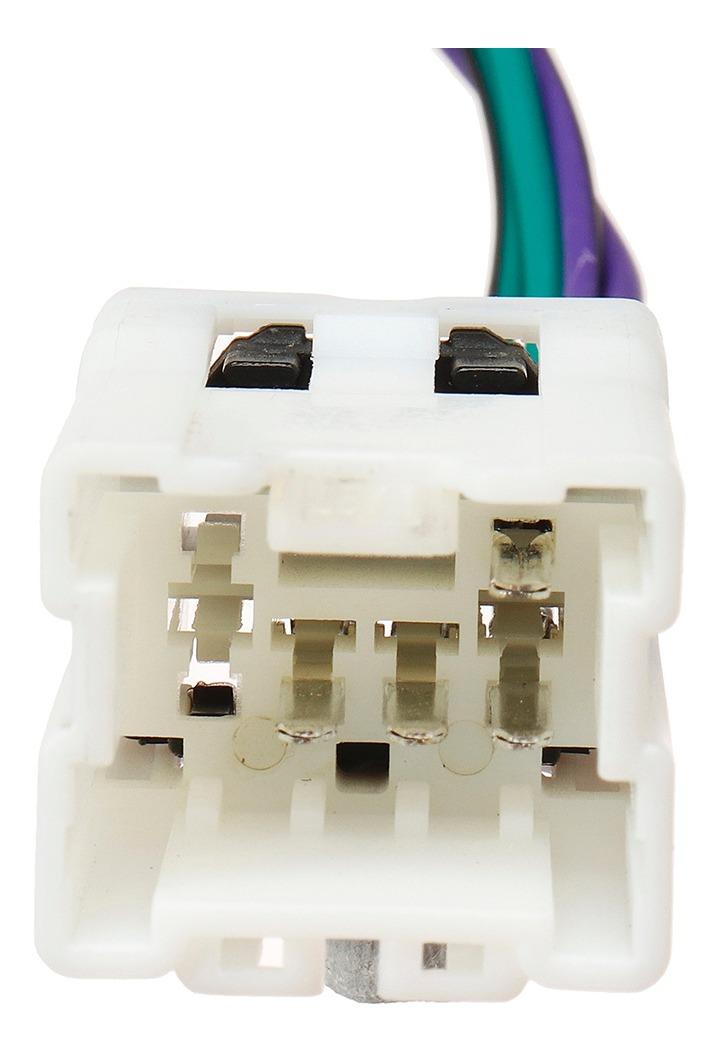 Radio Stereo Iso Arnés de cableado Conector cable adaptador telar para Nissan