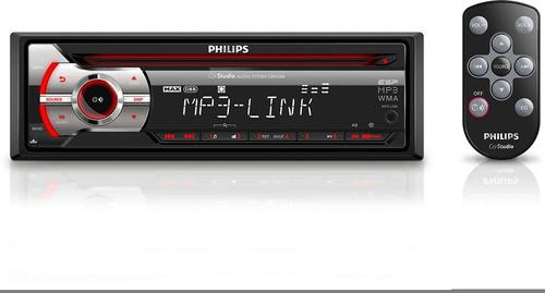 estereo philips con entrada auxiliar mp3 cem-1100