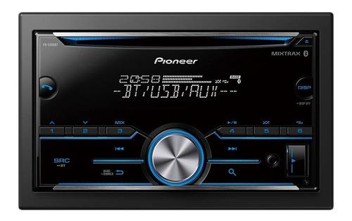 estereo pioneer fh-s505bt 2 din con bluetooth sin pantalla