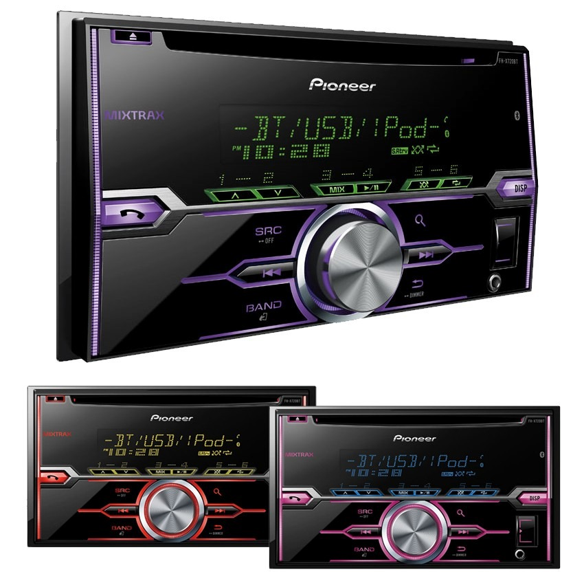Estéreo Pioneer Fh-x720bt Bluetooth 2 Doble Din Cd Android ... 8d022ffce7b