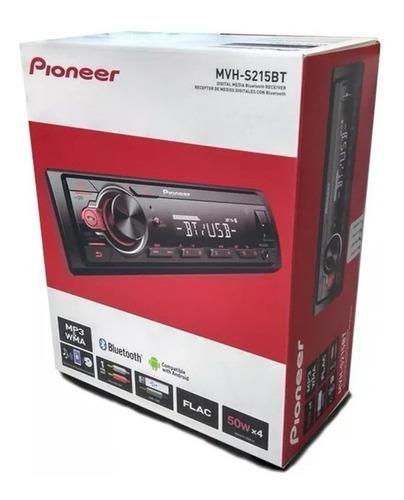 estereo pioneer mvhs215 bt aux usb 50w x4 + pioneer 6.5 pulg