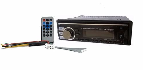 estereo radio auto mp3 sd usb frente desmontable + envio