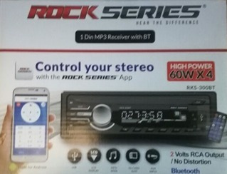 estereo rockseries rks-300bt bluetooth, usb sd android aux