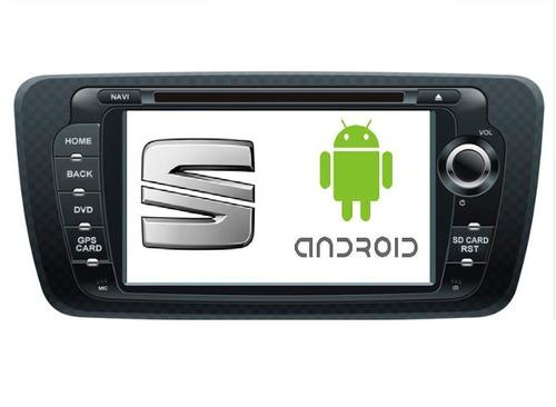 estereo seat ibiza gps dvd android camara de reversa mirror