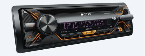 estereo sony nuevo carro coche multicolor usb mp3 cd control