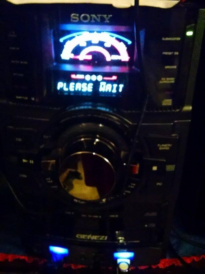 Estereo Urgee Sony Genezi Mhc-gtr88 Solo Monterrey