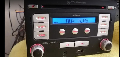 estereo volkswagen jetta clasico 2010 usb,aux,mp3,radio.
