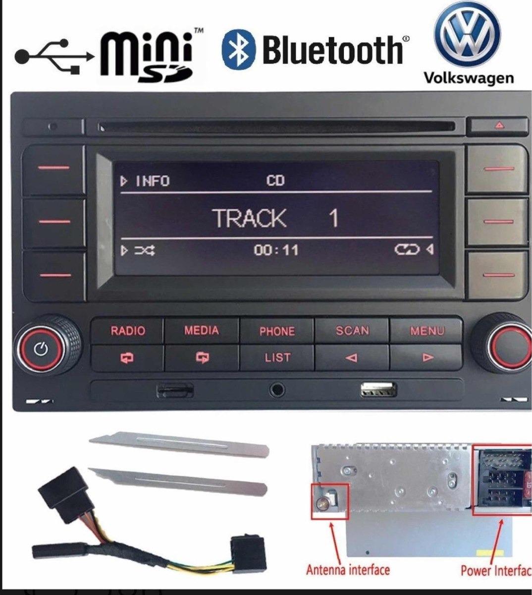 Estéreo Vw Jetta Golf Gli Clasico A4 99 2015 Usb Bluetooth