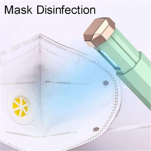 esterilización, desinfección de mascarillas con ultravioleta