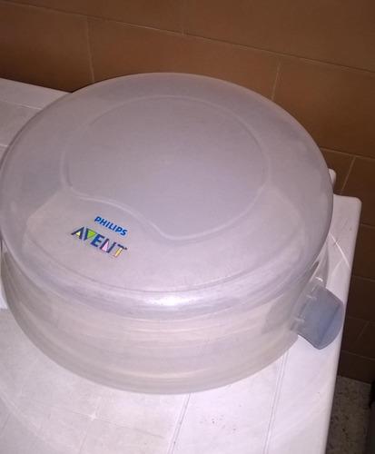 esterilizador avent para microondas usado