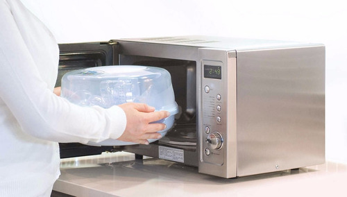 esterilizador avent vapor microondas scf282/02 c/accesorios