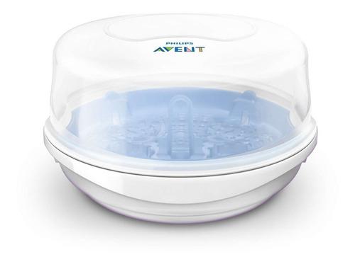 esterilizador de mamadeiras avent a vapor para microondas