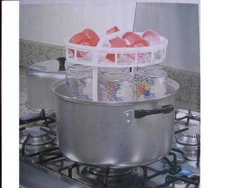 fb48249ab8 Esterilizador De Mamadeiras E Chupeta Fogão Clean Kiddo - R  155