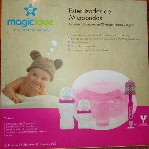 esterilizador de microondas magic love