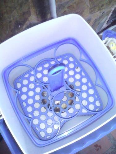 esterilizador de teteros de 8 tetero marca smalls