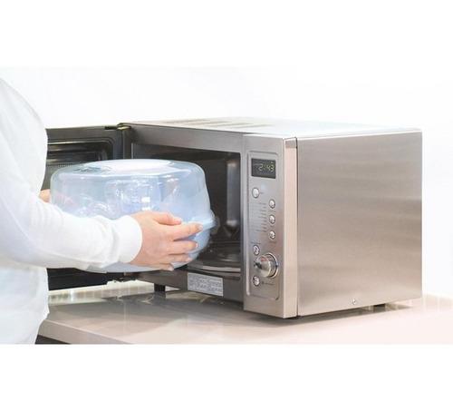 esterilizador de teteros para microondas nuevos infan-tec