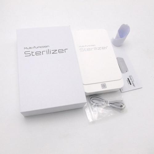 esterilizador desinfectante celulares mascarillas objetos