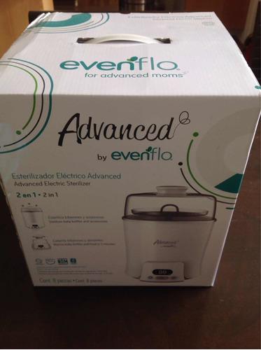 esterilizador eléctrico advanced by evenflo