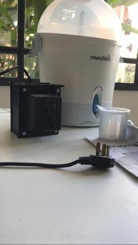 esterilizador eléctrico de mamaderas marca munchkin