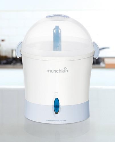 esterilizador electrico teteros munchkin - nuevo!!