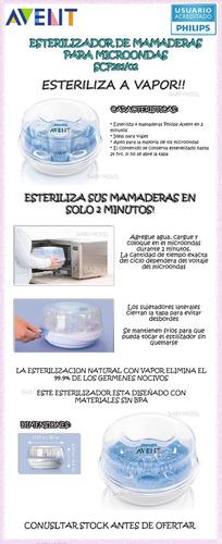 esterilizador mamaderas p/ microonda avent babymovil