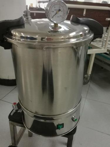 esterilizador  olla autoclave 17 litros 350ver des