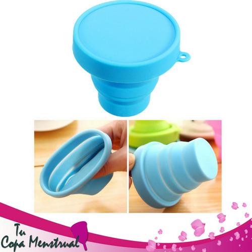 esterilizador para copa menstrual de silicon plegable nuevos