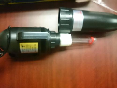 esterilizador uv 9w para acuario dulce/marino y estanques