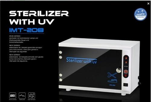 esterilizador uv profesional imt 208 - envio gratis