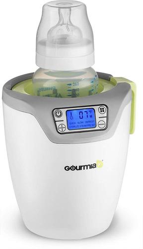 esterilizador y calentador de botella para bebé, pantalla