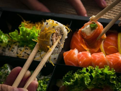 esterilla redonda de bambú para sushi 27x27