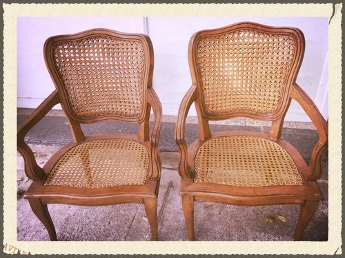 esterillados en sillas