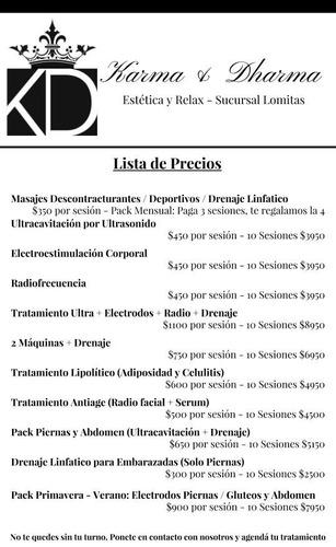 estetica d&k -radiofrecuencia / ultracavitación / electrodos