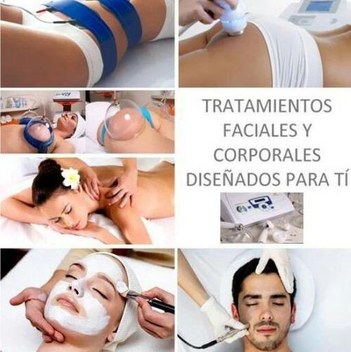 esteticista profesional, facial, corporal, depilación, etc.