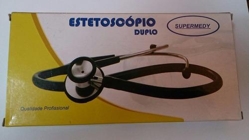 estetoscópio duplo infantil / neo natal  pct.10 supermedy