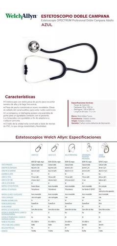 estetoscopio spectrum welch allyn profesional envío gratis
