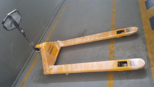 estibador manual hidráulico 2500 kilos