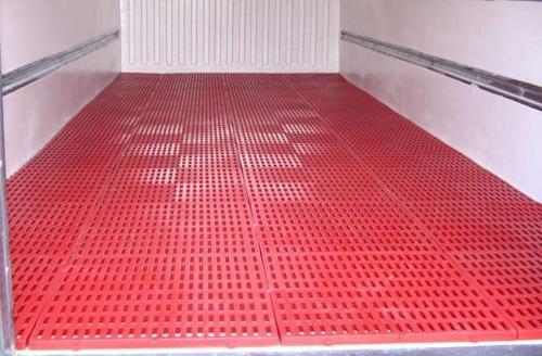 estibas plasticas funciona para piso furgones cuartos frios