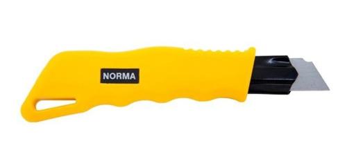 estilete largo norma 18mm metal e termoplástico l750
