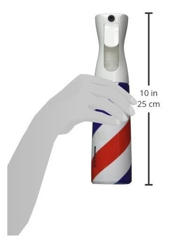 estilista sprayers barber pole