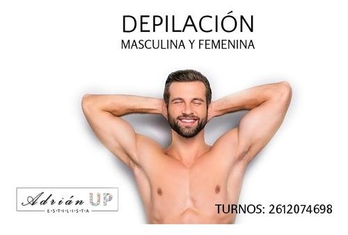 estilista unisex masajes depilación