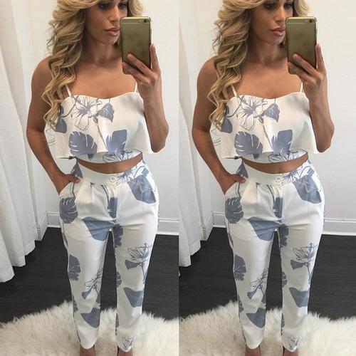 estilo casual de pantalones de mujer 2... (with blue.)