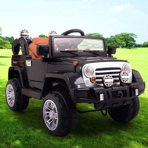 estilo de jeep de 12v niños paseo en carro de batería