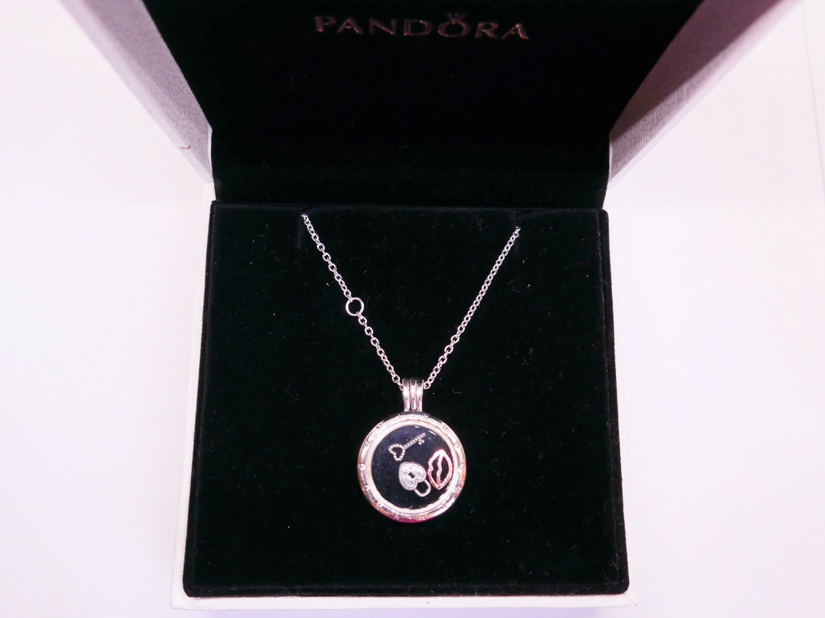 Estilo Locket Pandora Plata Collar 2018 Regalo Mama 10