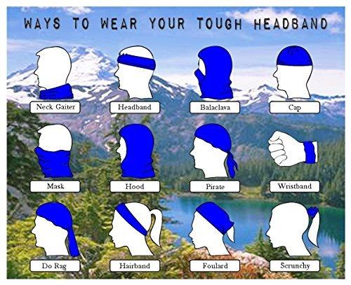 estilo sin fisuras loogu multifunción pañuelo de headwear a