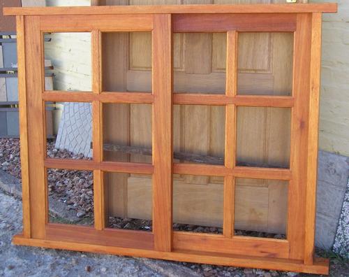 Estilo ventana madera colonial de primer sima calidad for Ventanas de madera mercadolibre argentina